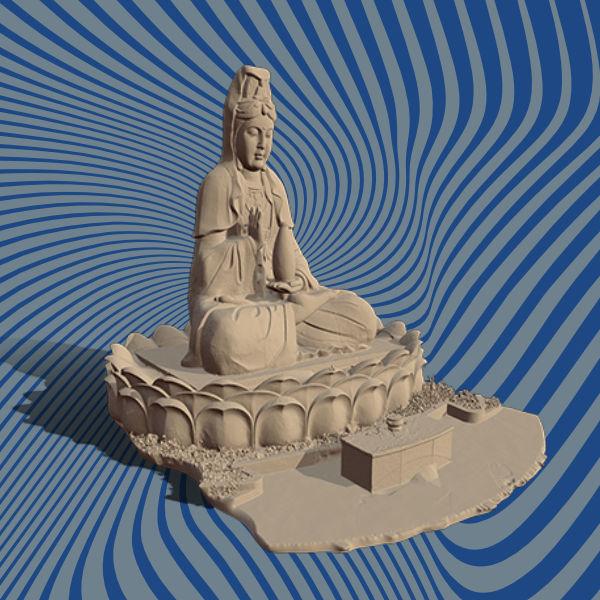 Statue 3D scan