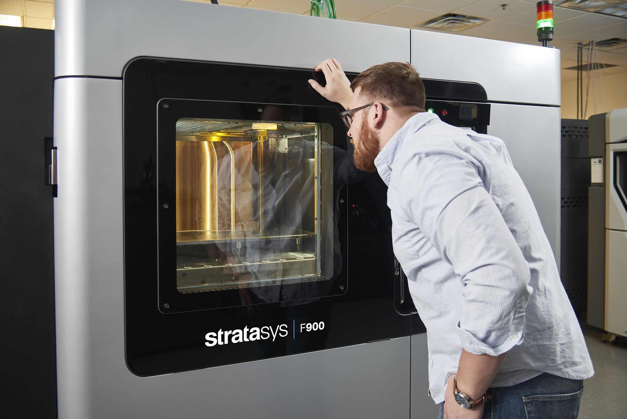 időtlen tervezés 100% valódi részletes képek Stratasys F900 is the ultimate manufacturing-grade production 3D ...