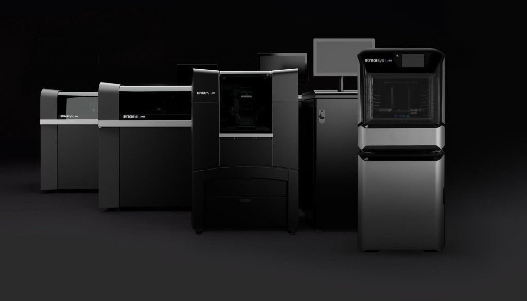 Stratasys J Series 3D Printers