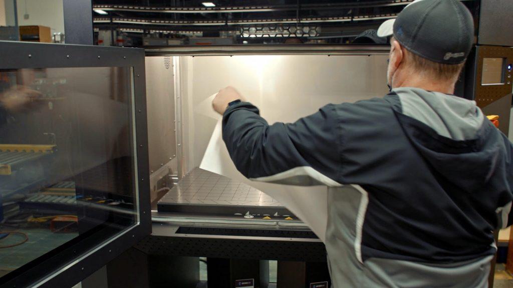 Sub-Zero's Stratasys F770 3D Printer