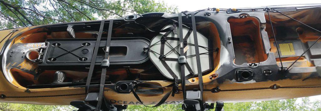 Thule carbon fiber part