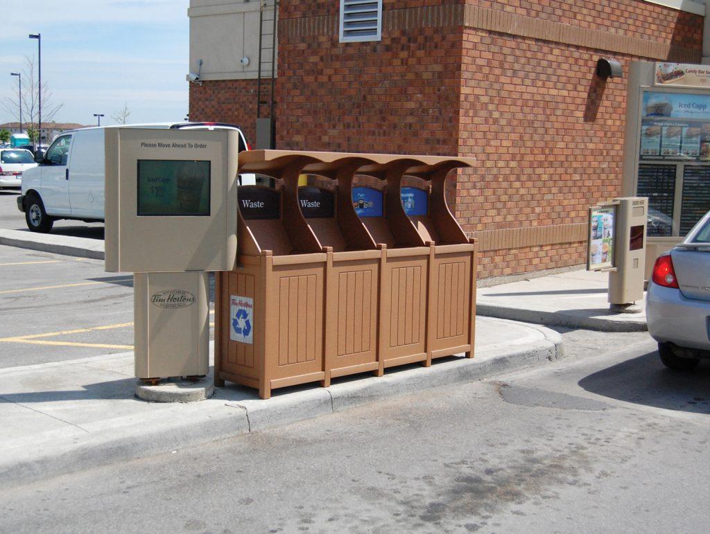 Tim Hortens Recycling