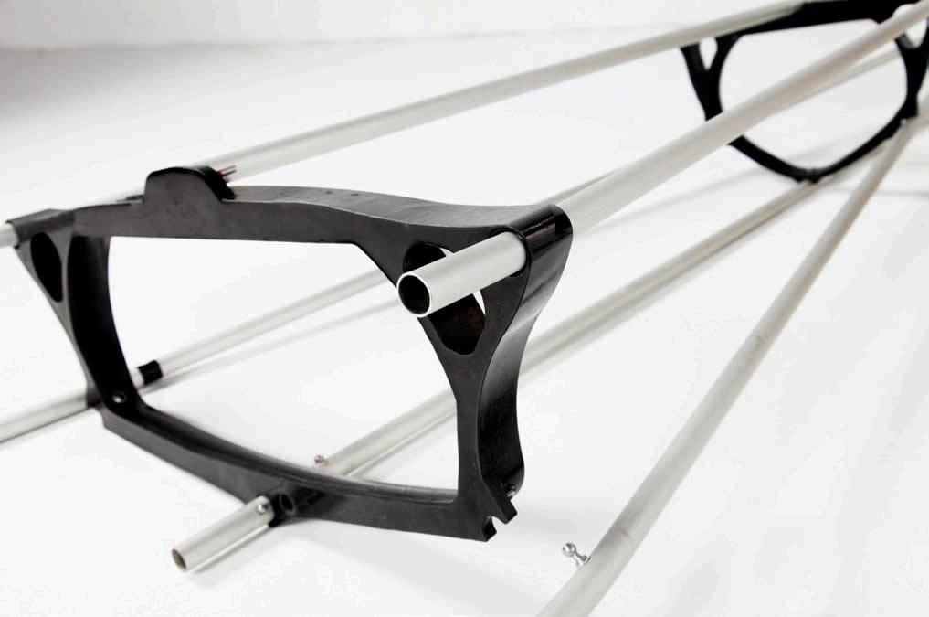 Trak Kayak frame design