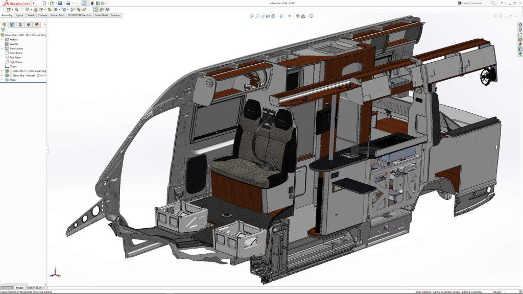 Vehicle development SOLIDWORKS