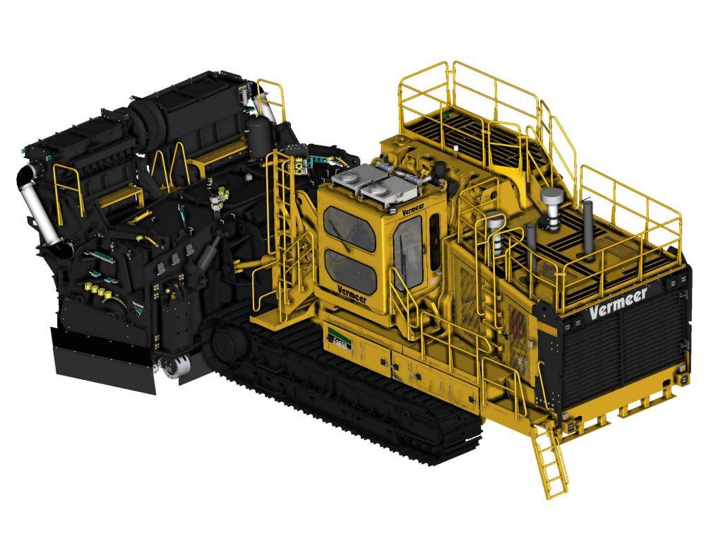 Vermeer CAD model