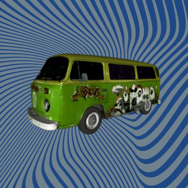 VW Bus 3D Scan