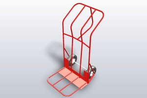 Weldments Hand Cart