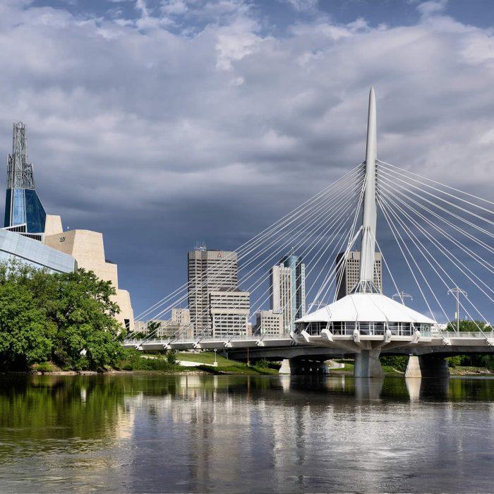 Winnipeg Manitoba Location