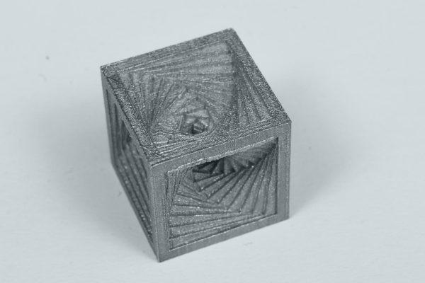 Xact Metal 3D Printed Cube
