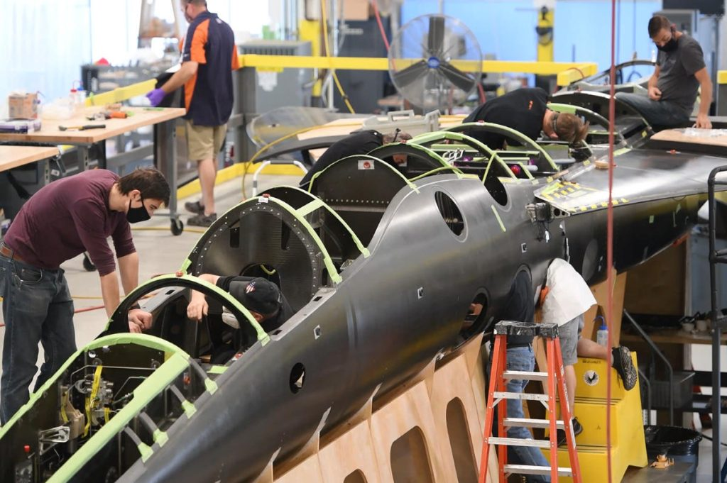 XB-1 Plane Production