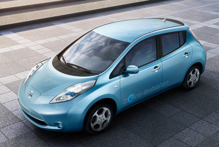 Interested in the upcoming Nissan LEAF Zero Emission Electric Car?