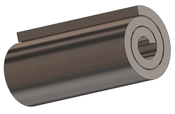 How to create a SOLIDWORKS rolled component that can be flattened
