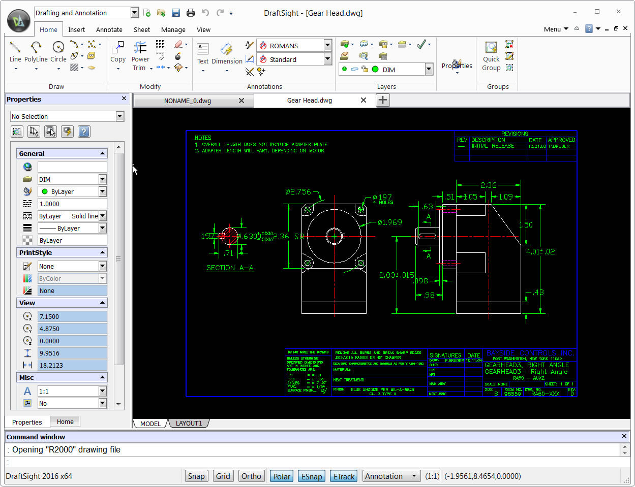 Draftsight is a free dwg editor for any version of autocad for Online cad editor