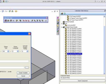 Calendar Club SolidWorks Application
