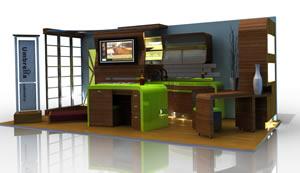 Loft Kitchen Environment