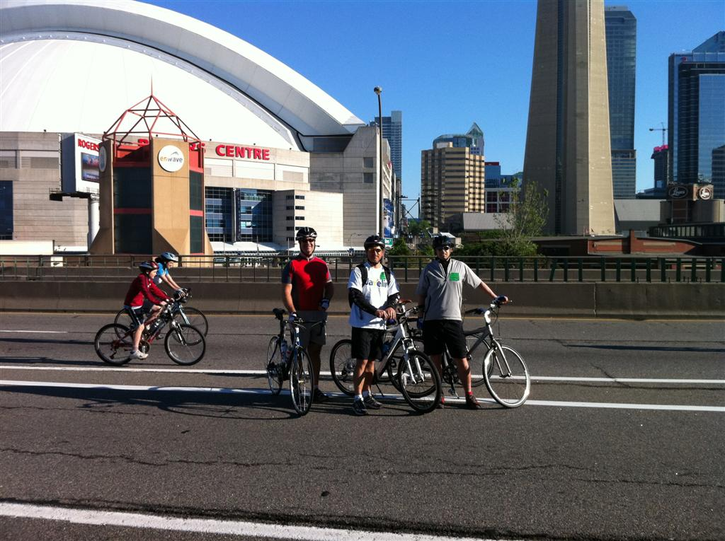 Team Javelin at Ride for Heart 2011