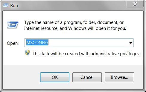 Recover Windows Resources with System Configuration (MSCONFIG)
