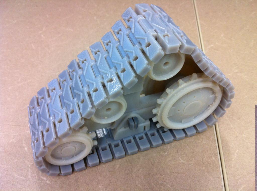 Souvent 3D Printing Project - Wall-E (Part I) - 3D Printer BP52