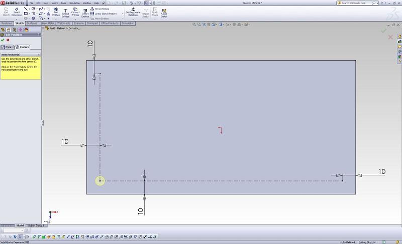 Curve Driven Pattern