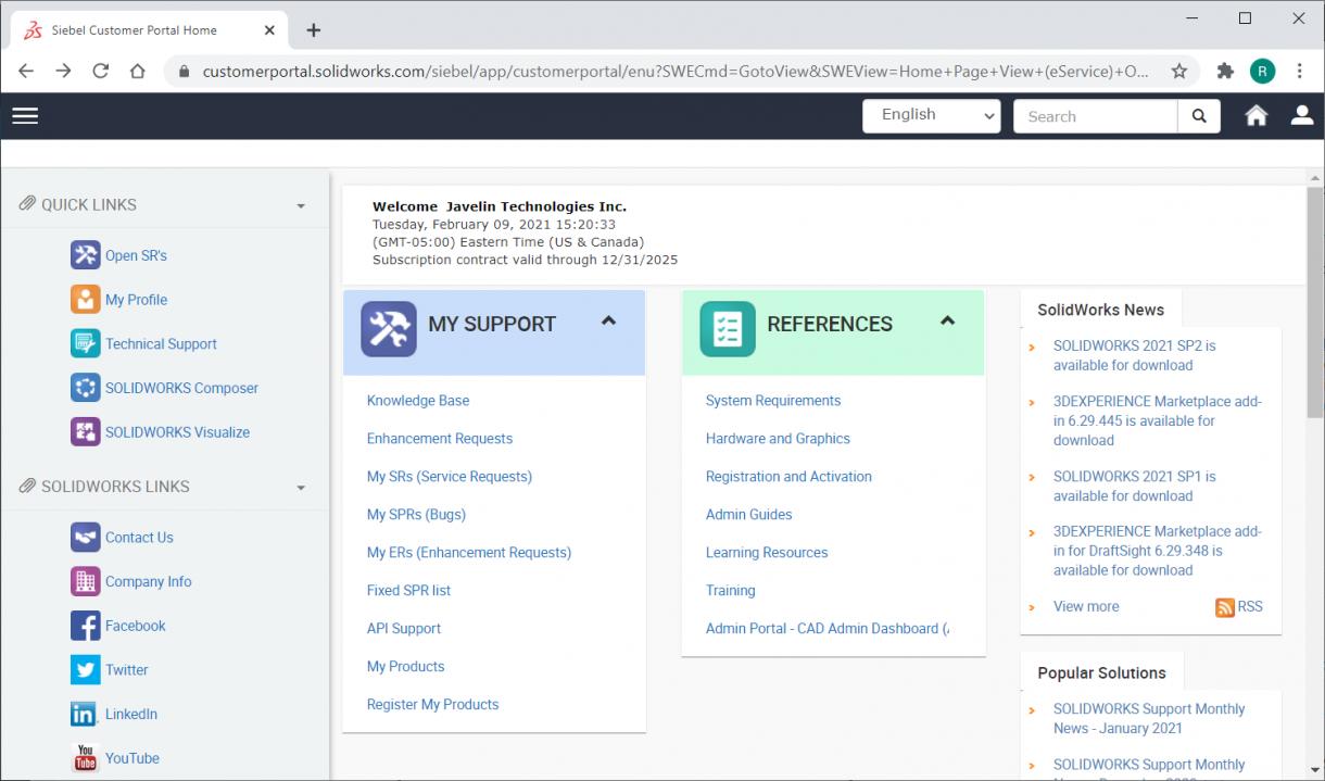 SOLIDWORKS Customer Portal Unlocked