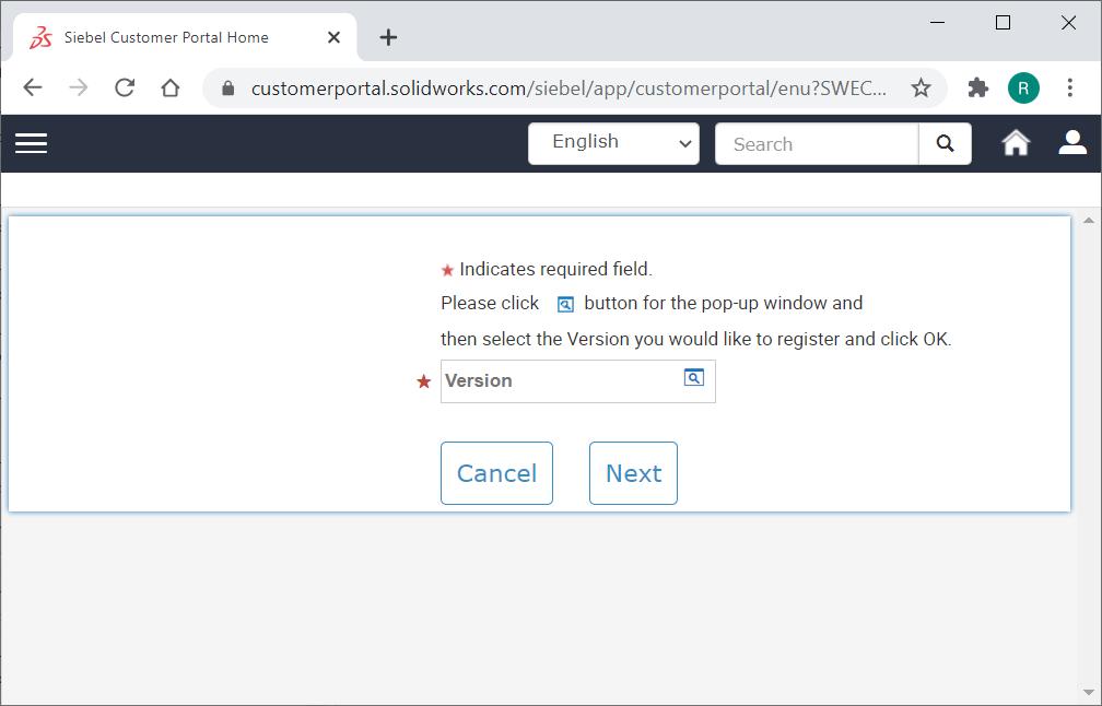 Unlock SOLIDWORKS Version