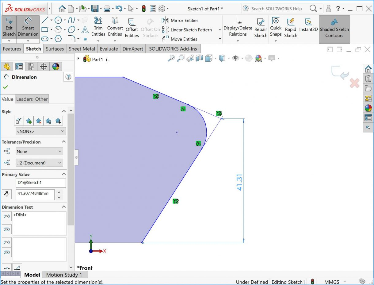 SOLIDWORKS virtual sharps