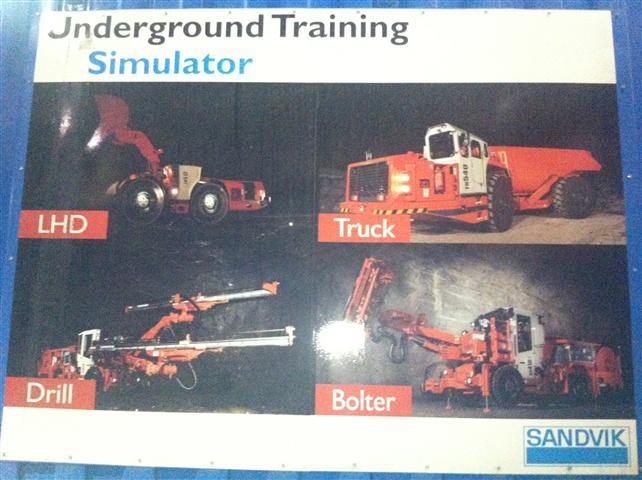 Real world virtual reality – Sandvik Mining Simulator