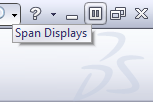 NEW In SolidWorks 2012 – Span Displays