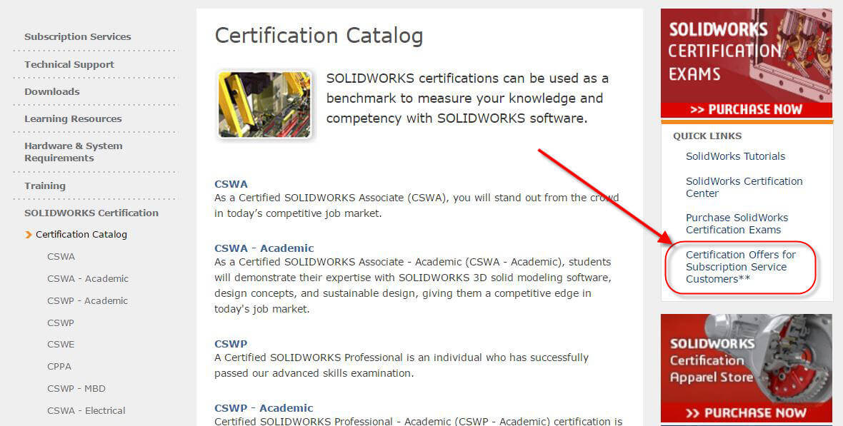 How To Obtain Free Solidworks Certification Codes For A Cswp Exam