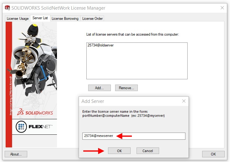 Moving SOLIDWORKS License Manager process and best practices