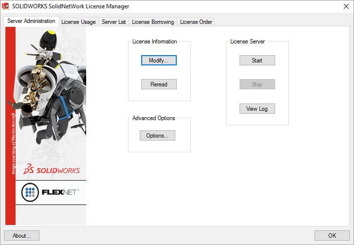 Moving SOLIDWORKS License Manager