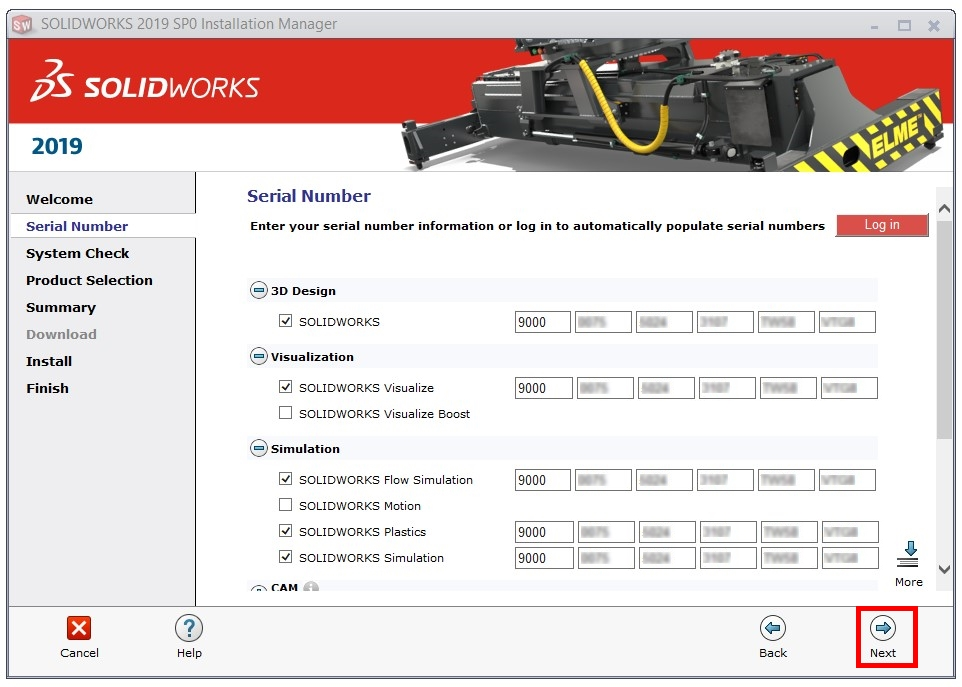 How to change SOLIDWORKS Serial Number of your installation