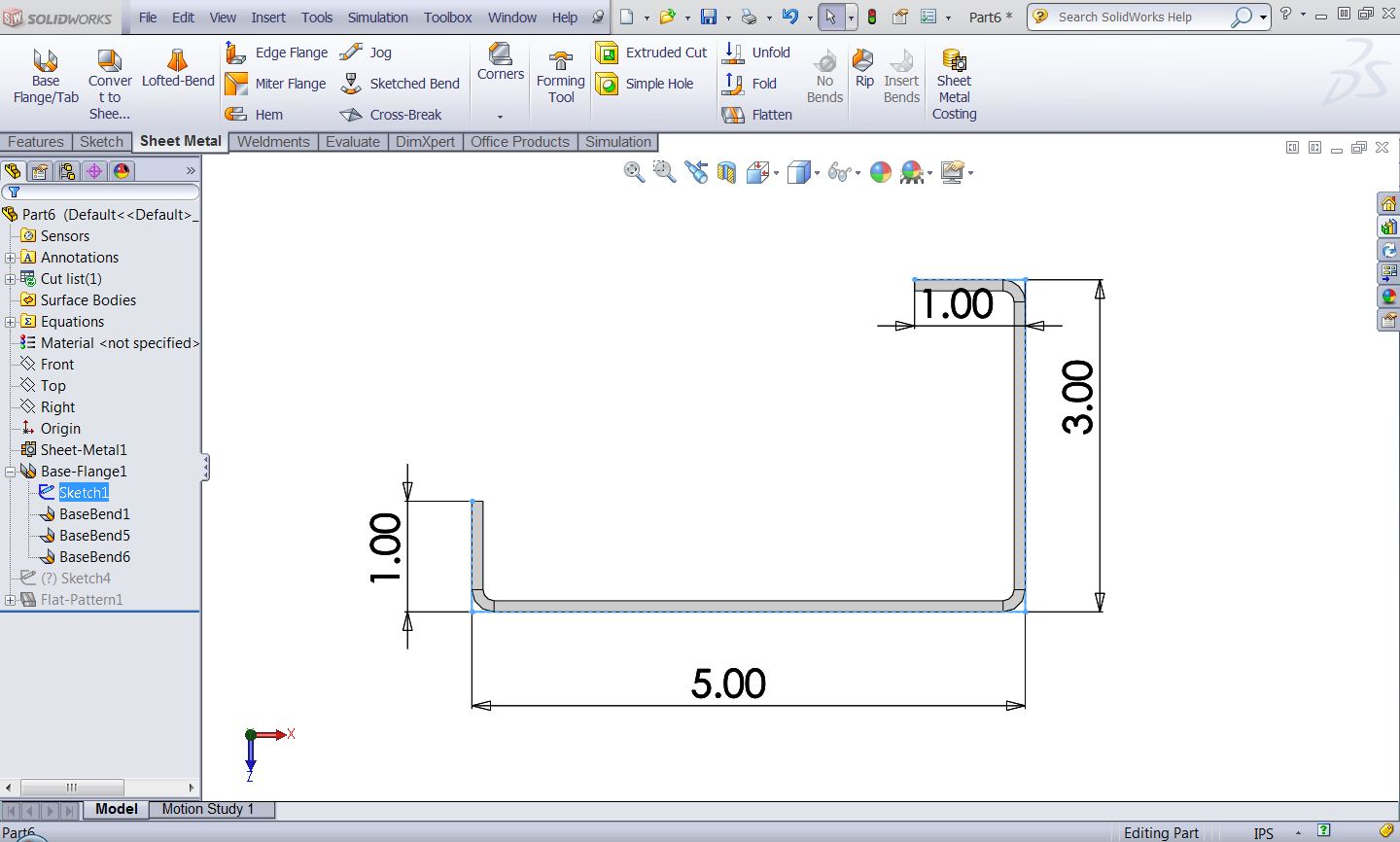 Sheet Metal Bend Deduction Calculations With Switching