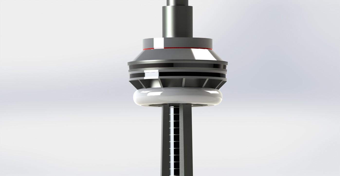 CN Tower Detail