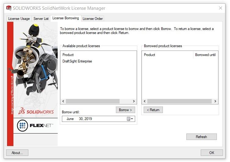 SOLIDWORKS SolidNetWork License (SNL) Manager