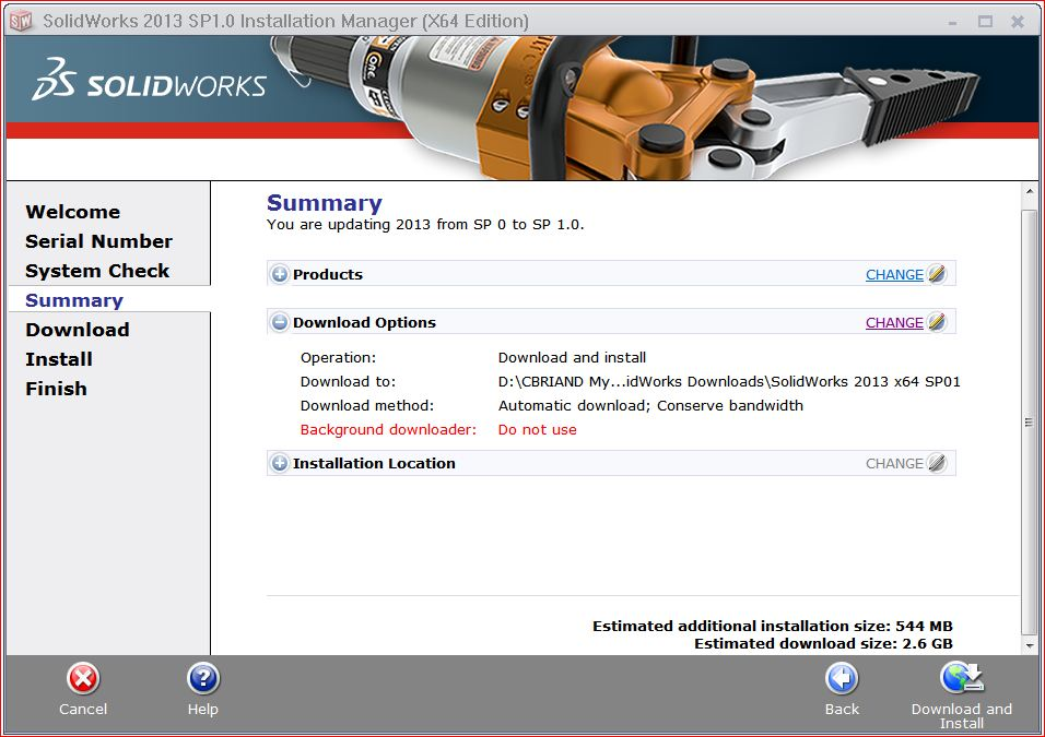 Download SOLIDWORKS Service Pack
