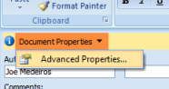office-advanced-properties