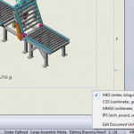 Displaying Mass using Different Units on a SolidWorks Drawing [VIDEO]