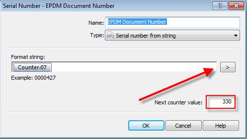 Serial number format