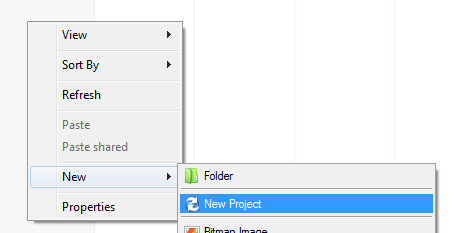 run folder template