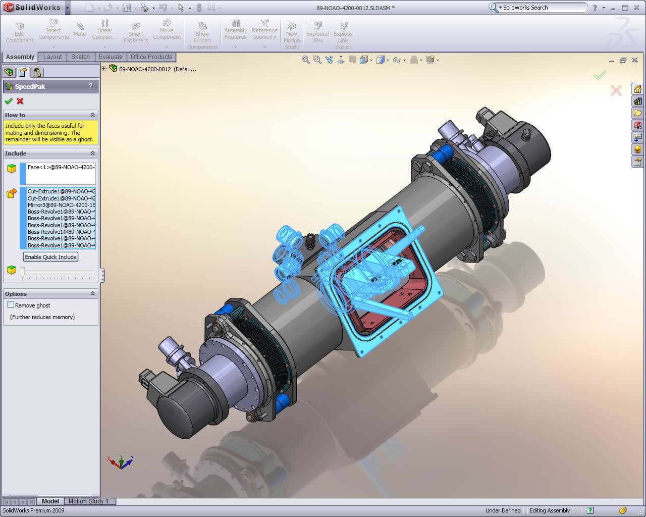 SOLIDWORKS SpeedPak