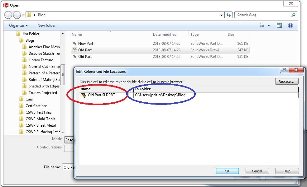 Edit File Locations