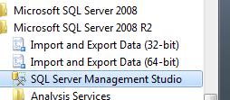 Start SQL Studio