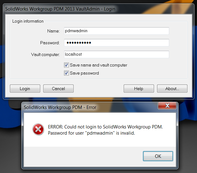 Resetting the Workgroup PDM Administration Password - VIDEO