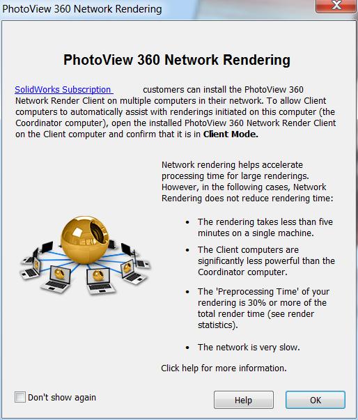 Network Rendering Client