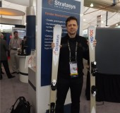 3D Printed Skis by Stratasys