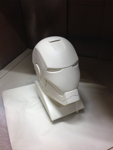 Bust - 2nd coat of primer