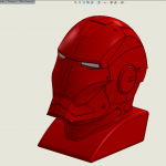Iron Man in SolidWorks