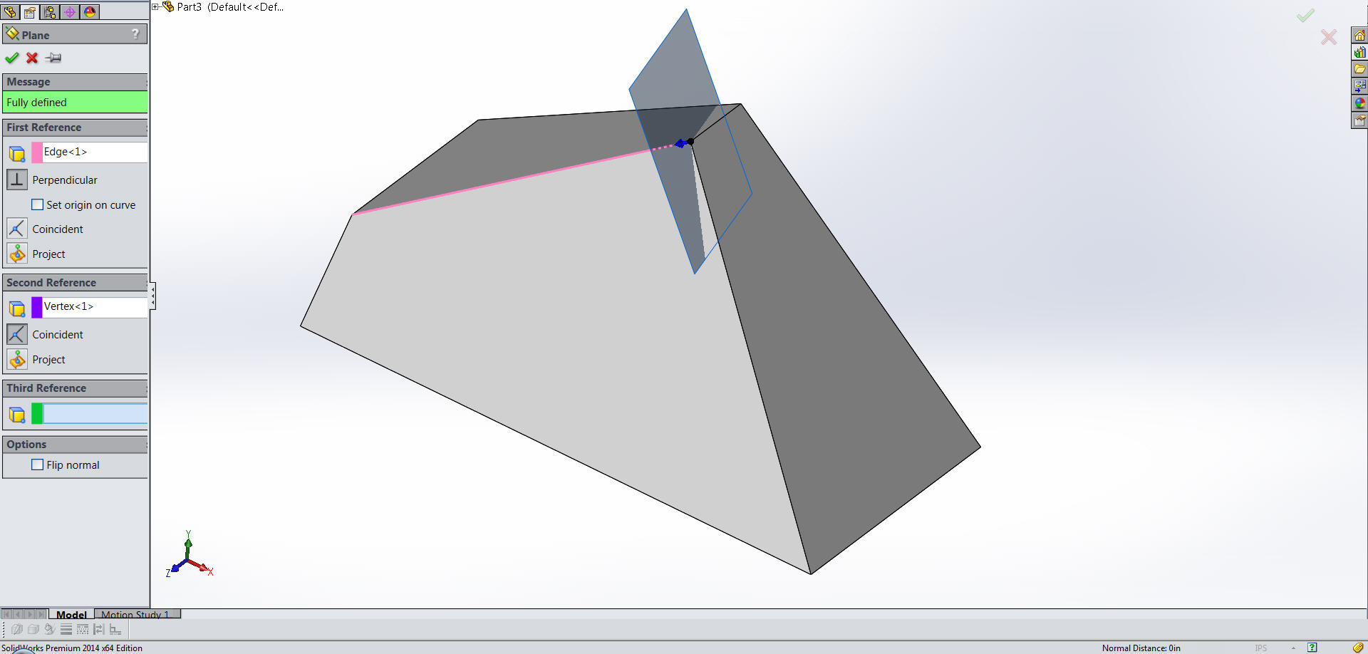 Edge and Vertex for 3D Sketch