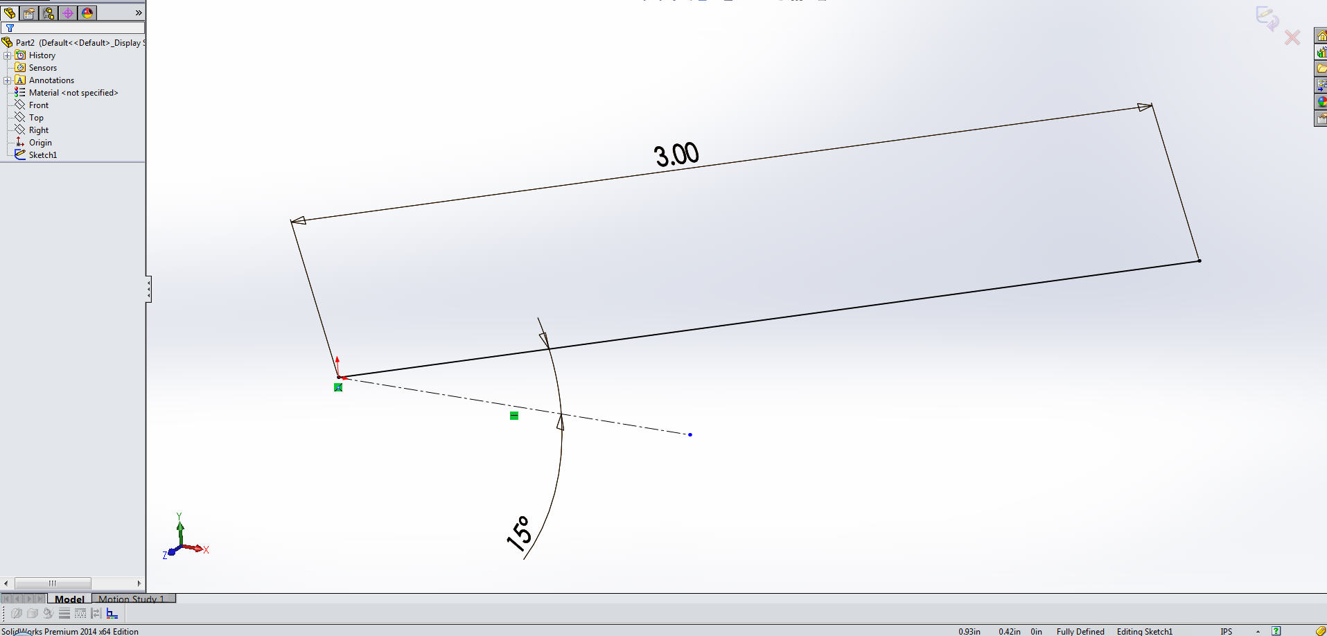 SOLIDWORKS Reference Plane